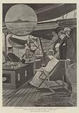 """The Ashanti Expedition, on Board the """"Loanda"""" at Sierra Leone"""