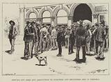 Serving out Arms and Ammunition to Burghers and Registered Men in Pretoria