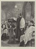 Dr Temple, Archbishop-Designate of Canterbury, opening the Pepys Mission House at Westminster