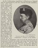 Colonel the Honourable N G Lyttelton, commanding a Brigade in the Soudan
