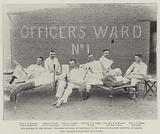 Our Success in the Soudan, Officers wounded at Omdurman in the English Military Hospital at Abadia