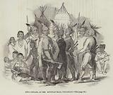 Iowa Indians, at the Egyptian Hall, Piccadilly