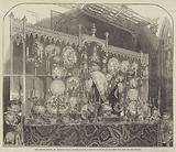 The Grand Buffet, St George's Hall, at the Garter Banquet, given to His Majesty the King of the French