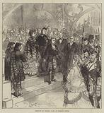 Reception of Princess Louise at Inverary Castle