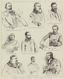 Sketches in the Parnell Inquiry Commission Court