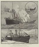 Collision of Mail Steam-Boats between Dover and Ostend