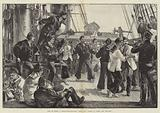 "Life on Board a Man-of-War, Saturday Afternoon, ""Hands to dance and Skylark"""