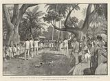 The Emin Pasha Relief Expedition, Mr Stanley and his Comrades at Mombasa, Native School-Children …