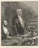 Meeting of the Royal Geographical Society, Monday, 5 May, in the Royal Albert Hall, Mr Stanley speaking