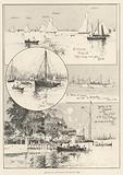 Sketches at Cowes during the Regatta Week