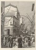 The Bombardment of Rio de Janeiro, the Rua do Ouvidor