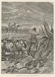 Fighting between the Riffs and Spanish Troops outside Melilla