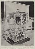 A Royal Relic at Windsor Castle, Sedan-Chair used by Queen Henrietta Maria, Consort of Charles I
