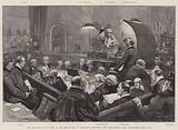 The Ardlamont Case, Scene in the High Court of Justiciary, Edinburgh, the Lord Justice Clerk administering the Oath
