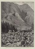 The Chitral Expedition, Storming of the Malakand Pass by the Gordon Highlanders and the Guides