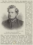 The Reverend Urijah R Thomas, Chairman of the Congregational Union