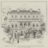 Dorchester House Park Lane, the Residence of the Shahzada Nasrullah Khan during his Stay in London