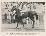 The Winner of the Kempton Park Stakes, 11 October, Mr T Kincaid's Epsom Lad (Gomez up)