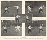 International Fencing at Blenheim Palace, 19 October, Competitions between English and French Swordsmen
