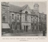 The Hull Central Free Library, opened by Lord Avebury, 6 November