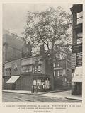 A Literary London Landmark in Danger, Wordsworth's Plane Tree at the Corner of Wood Street, Cheapside