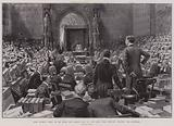 Earl Russell tried by his Peers for Bigamy, 18 July, the Lord High Steward reading the Sentence