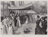 Queen Alexandra's First Public Act, the Reception of the Queen Victoria's Institute of Nurses …