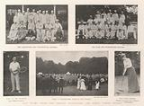 Last Week's Tennis and Croquet Tournaments and Public School Cricket