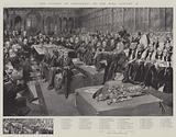 The Opening of Parliament by the King, 16 January