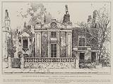 The Haunted House in Homer Street, Lambeth, Tudor House, shortly to be pulled down