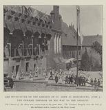 The Investiture of the Knights of St John at Marienburg, 5 June, the German Emperor on his Way to the Banquet