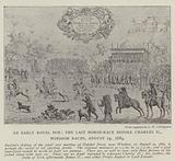 An Early Royal Box, the last Horse-Race before Charles II, Windsor Races, 24 August 1684