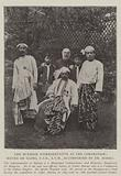 The Burmese Representative at the Coronation, Maung On Gaing, CIE, ATM, accompanied by Dr Marks