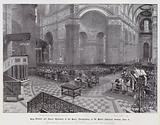King Edward and Queen Alexandra at the Peace Thanksgiving in St Paul's Cathedral, Sunday, 8 June