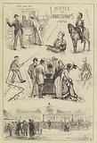 Notes at Longchamps, 1876