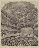 Interior of the New Palais Royal Theatre, Paris