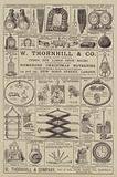 Advertisement, W Thornhill and Company