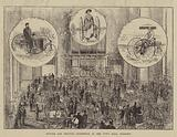 Bicycle and Tricycle Exhibition at the Town Hall, Holborn