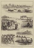 The University Boat Race, Practice at Putney