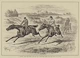 """A Question about the Derby, """"It's all Out of the Trial Horse, and the Young 'un 'll Win"""""""