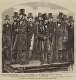 Mr Brunel directing the Launch of the Leviathan