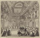The Polonaise by the Prince and Princess Frederick-William in the White Hall of the Royal Palace, Berlin