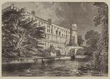 Warwick Castle, from the Avon