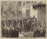 The Prince Regent of Prussia taking the Oath in the White Hall of the Palace at Berlin