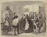 Prince Frederick-William of Prussia presenting the Young Prince to the Domestics of the Palace