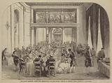 The State Banquet after the Christening of the Infant Prince at Berlin