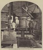 Machinery for Raising the Tubes of the Royal Albert Bridge, at Saltash