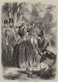 The Empress Eugenie, Pheasant Shooting at Compiegne