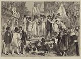 A Slave Auction at Charleston, South Carolina