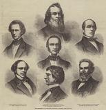 The Members of President Lincoln's Cabinet